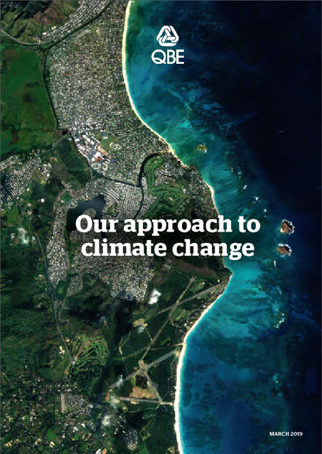 Our approach to climate change